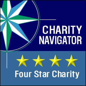 Charity Navigators 4 Star Rating